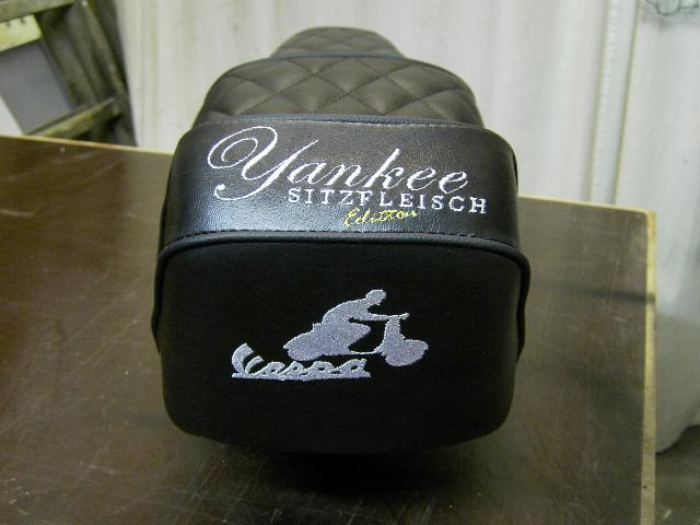 Vespa Yankee Sitzbank.10