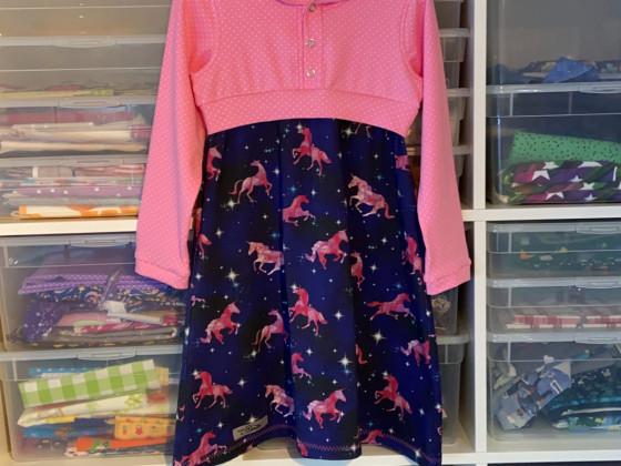 Geburtstagskleid für Enkelmädchen Nr.3
