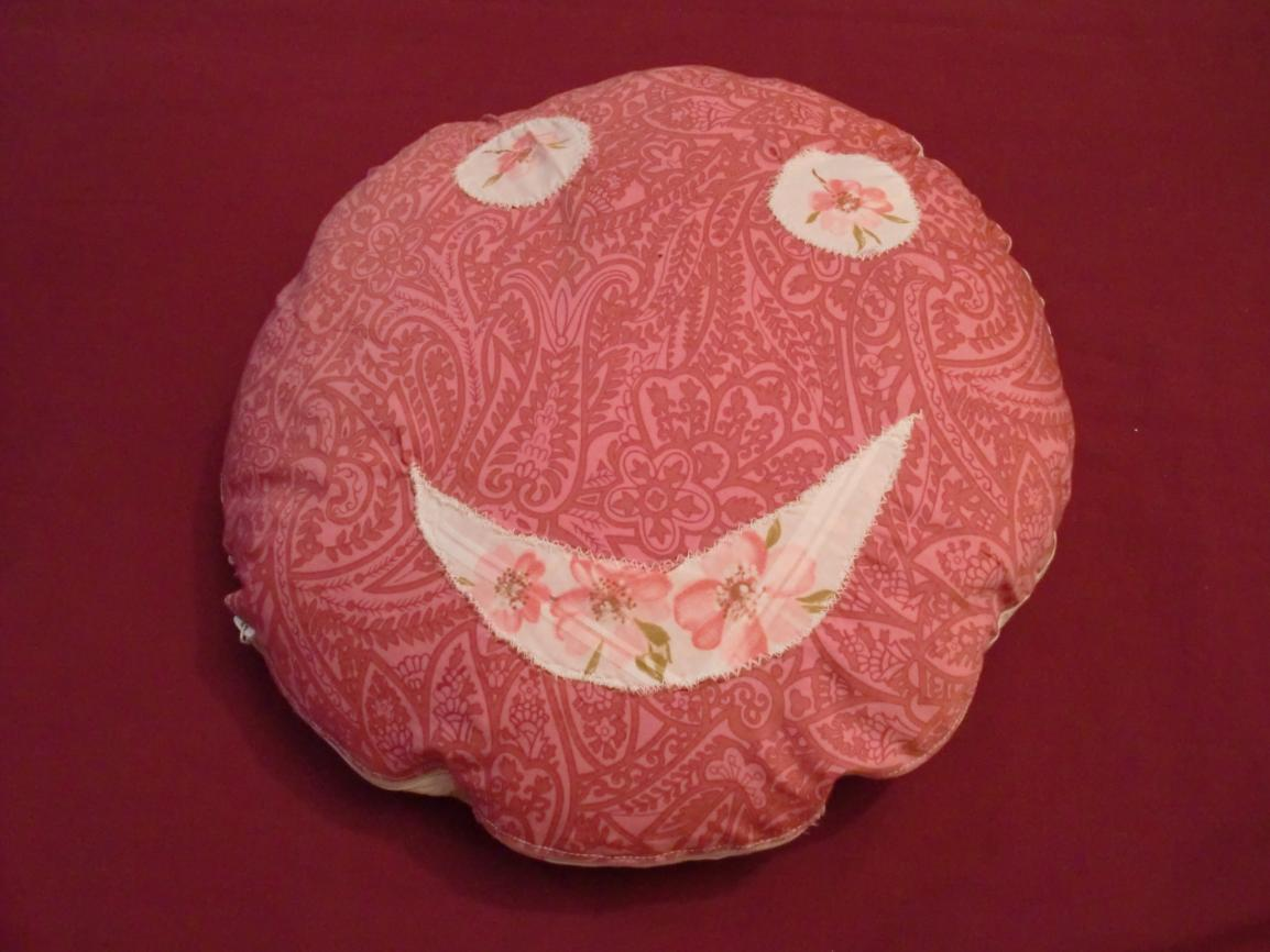 Smiley-Kissen