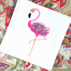 Untersetzer Flamingo