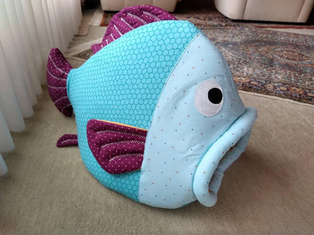 Fisch als Katzenhöhle