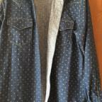 Herrenhemd aus japanischen Stoff