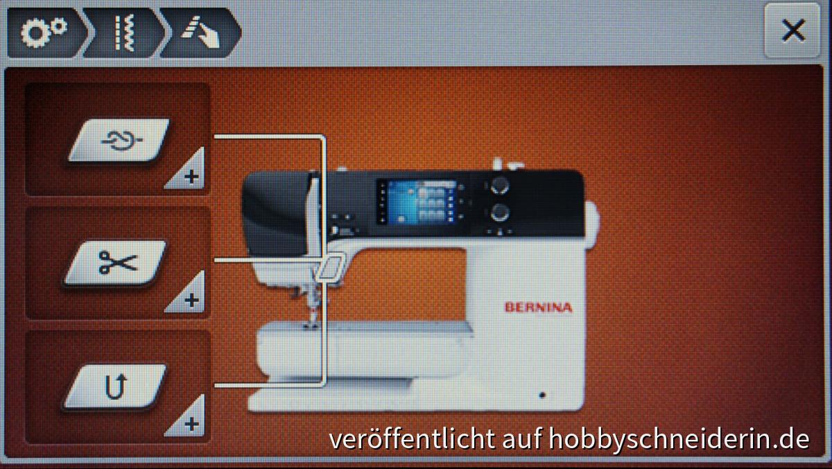 Bernina B540 Setup