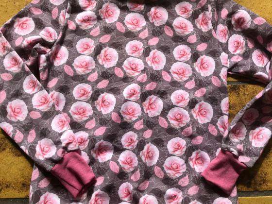 Hoody Nelly von pattydoo mit Tube-Kragen