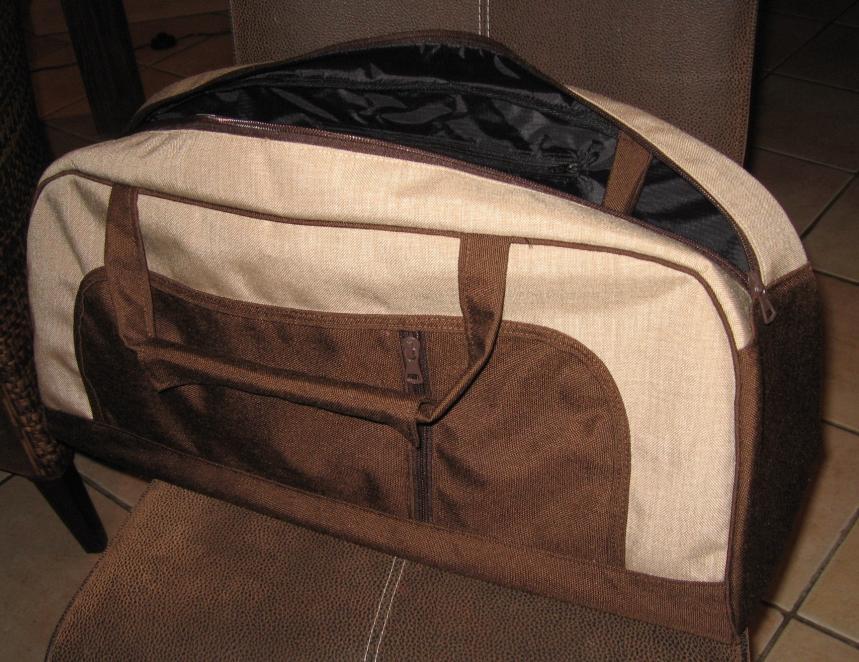 """Shopper aus dem Buch """"Meine Tasche Mein Design"""" zum Teil aus einer alten Cordhose"""