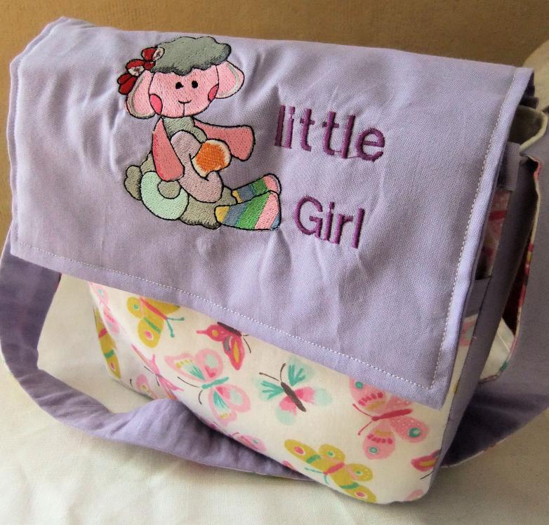 Kindergarten-Tasche für die Tochter meiner Nichte