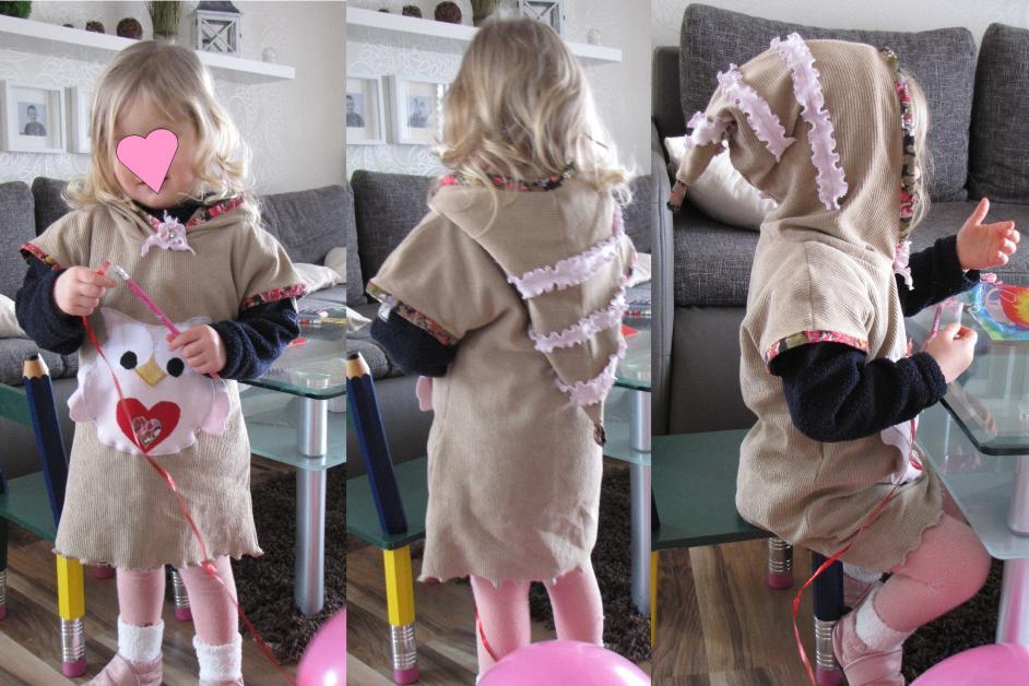 Kleid recycelt