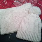 Seemanns-Look Mütze + Schal