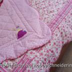 Quiltdecke für meine Enkeltochter Milou