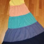Maxi-Stufenkleid