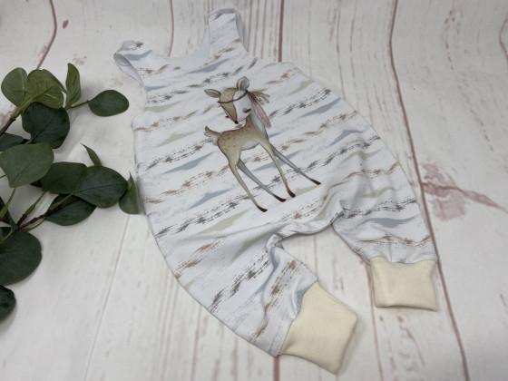 Baby Strampler Boho Reh Gr 62