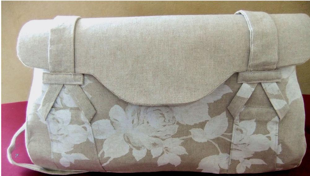 Blossom Bag beige