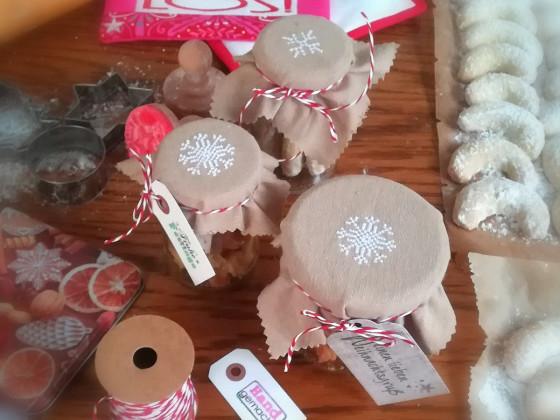 Weihnachtsplätzchen verschenken