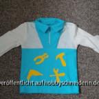 Manni Shirt aus Ottobre 2012 in Gr.98die Velours sind  aufgebügelt - das Richtige für kleine Handwerker