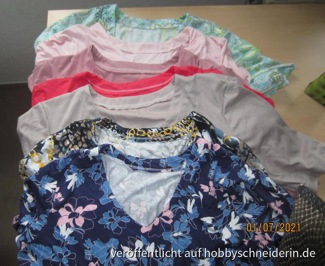 endlich neue Shirts