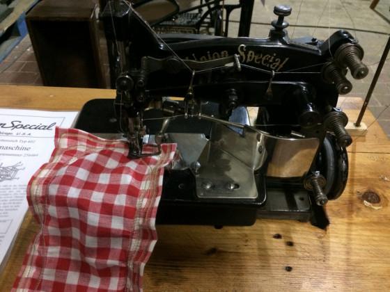 Union Special Flachbett Nähmaschine