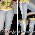 Recycling Jeanshose