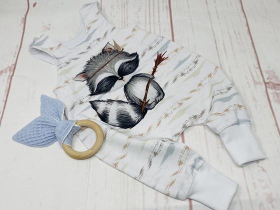 Waschbär Strampler