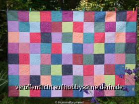 Ein bunter Quilt