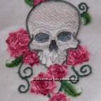 Skull mit Rosen