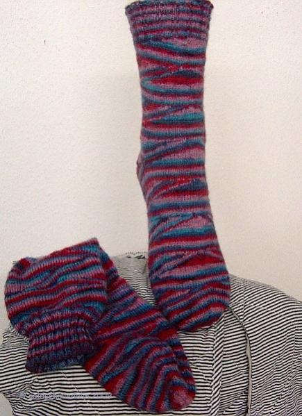 Rainbowsocks blau