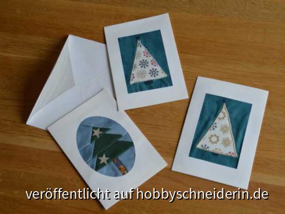 Weihnachtliche Grußkarten
