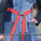 Mantel Johanna aus Jeans (Probemantel).