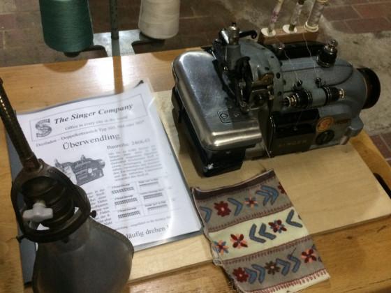 Alte Singer Überwendling Maschine