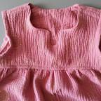 Kinderkleid/ -Tunika Bohemian (Kid5) aus Musselin