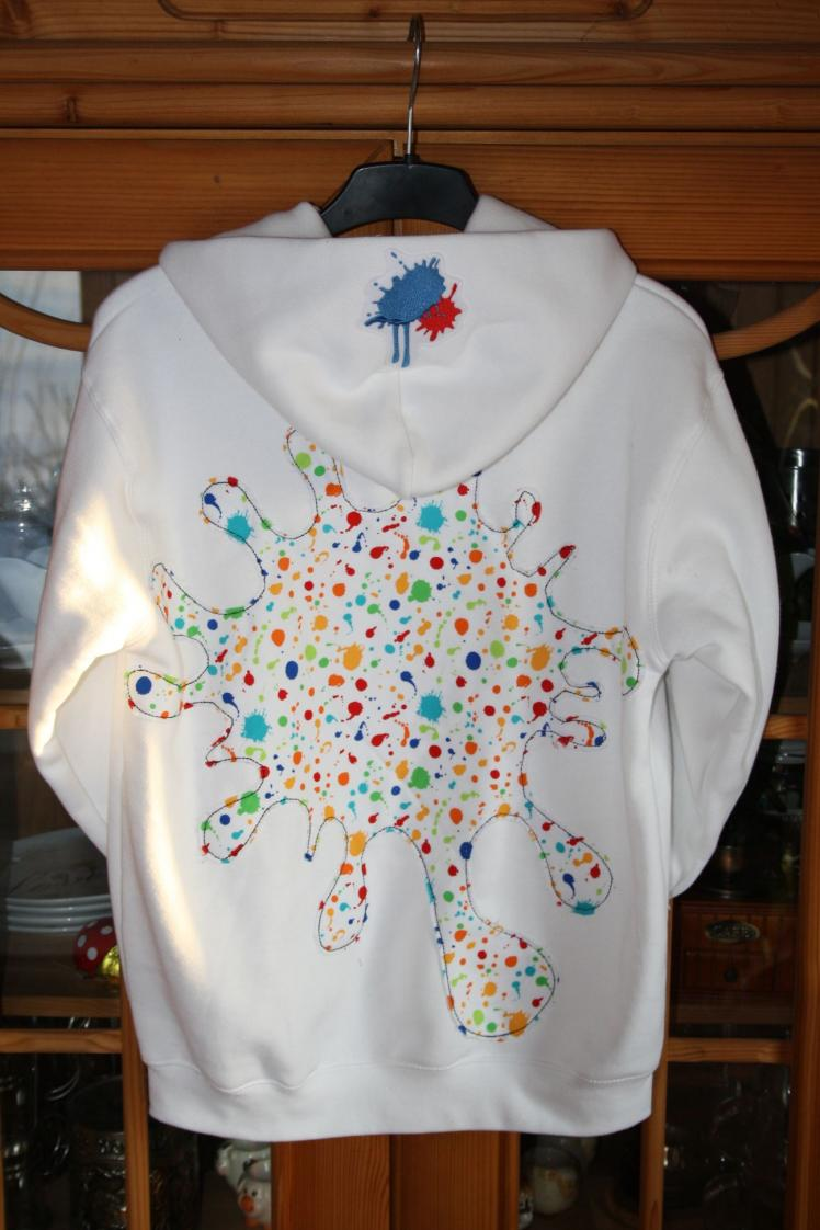 Da weiße Pullover