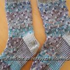 Echoes - Socken im Jacquardmuster