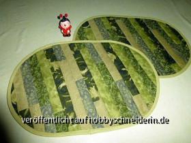 Tischsets grün 002