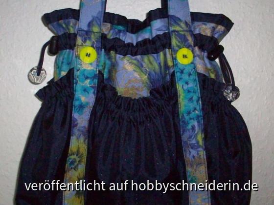 kl. Julie-Tasche Blumenjeans