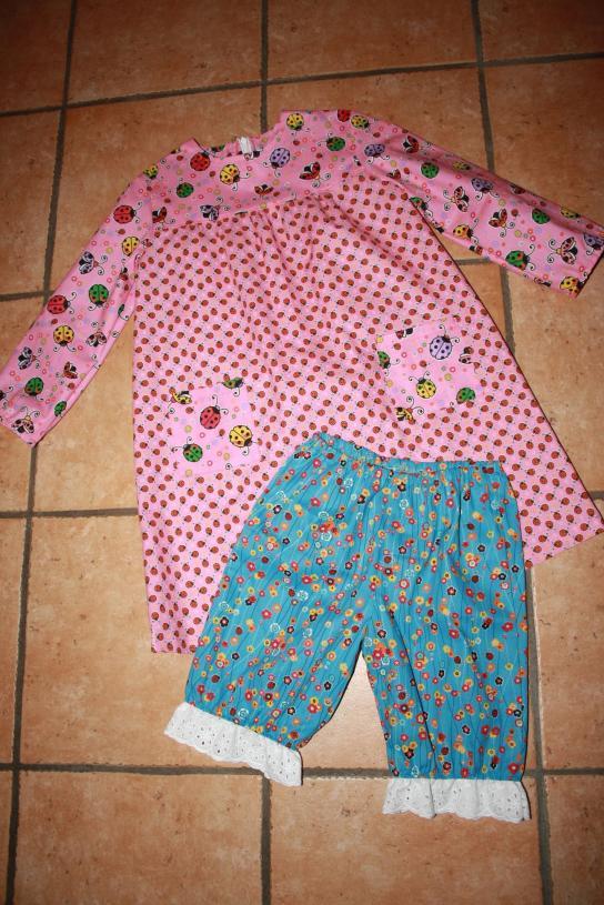 (Unter)kleid und Pumphöschen stammen aus der neusten Otobre.