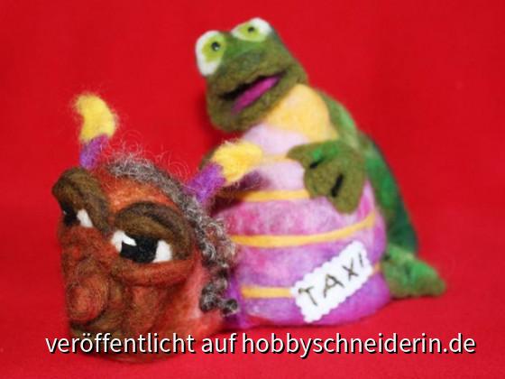 Shuttle-Service Der Frosch