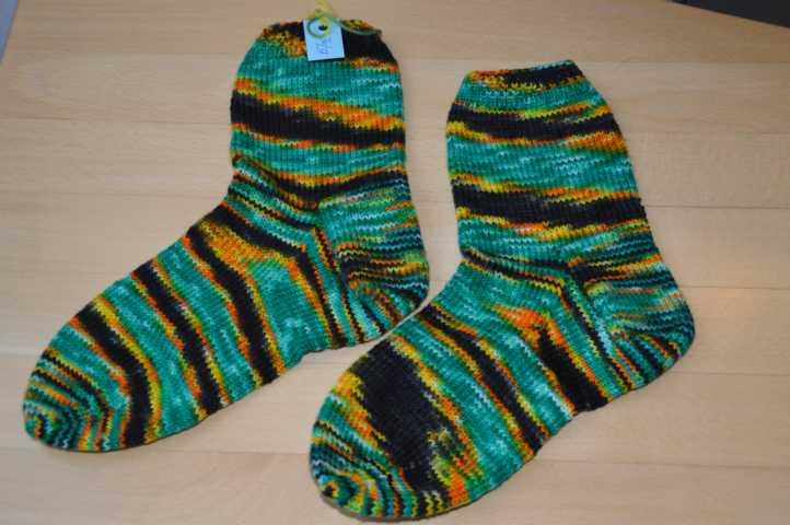 Jamaika-Socken Gr 36-37