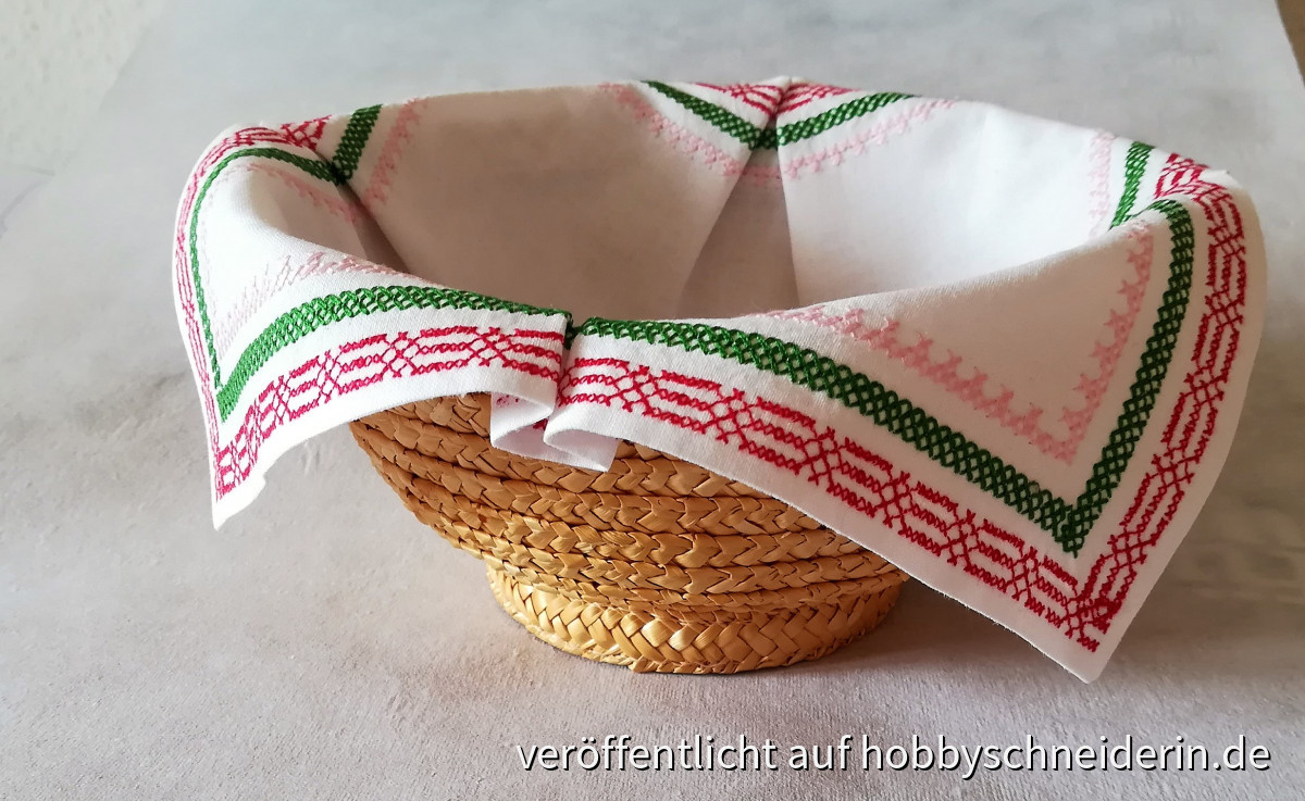 Deckchen für den Brotkorb