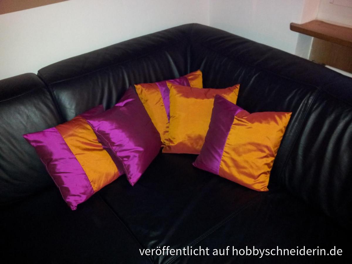 Kissen für mein Wohnzimmer.