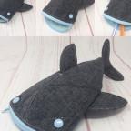 Walhai für die Murmel - Stiftemäppchen