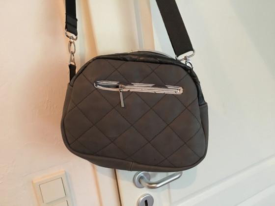 Rückseite Leder Tasche