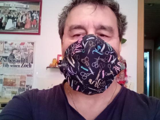 Die erste Maske für mich