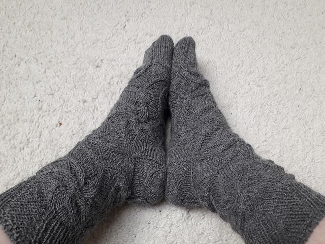 Swirlagon Socks