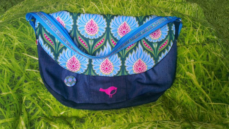 Handtasche DAME, Farbenmix Taschenspieler I