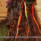 Haarschmuck aus Filz der anderen Art