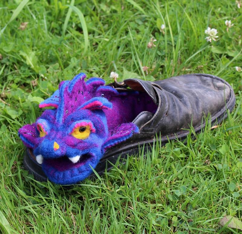 Drago wohnt im Lederpuschen