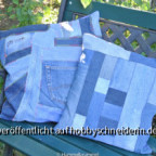 Jeans-Upcycling-Patchwork-Kissen