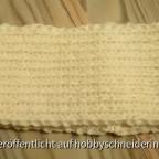 Stirnband aus Sockenwolle