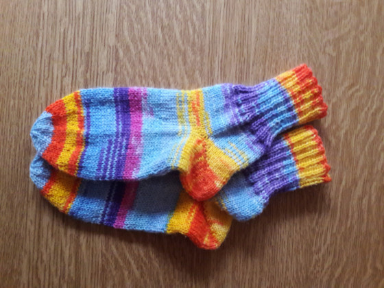 Kindersocken 30/31 - Restesocken