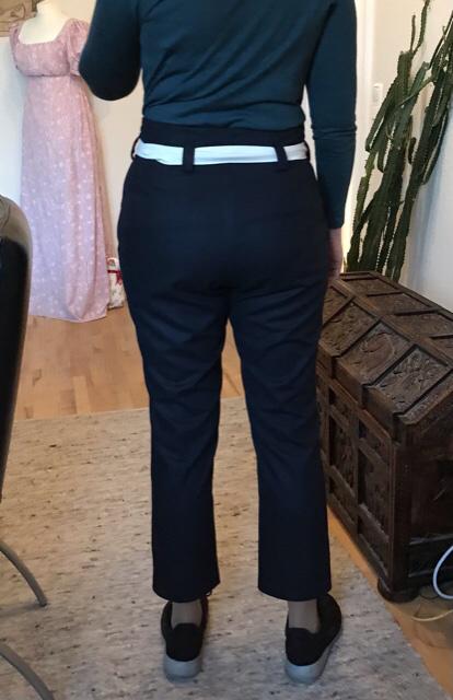 E6 - Bundfaltenhose hinten - Ceri