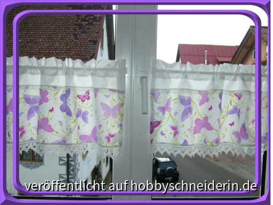 Schmetterlinge violett 1